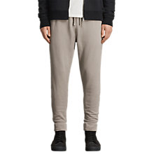 Buy AllSaints Raven Cuffed Tracksuit Bottoms, Concrete Grey Online at johnlewis.com