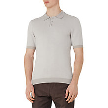 Buy Reiss Tisley Knitted Polo Top Online at johnlewis.com
