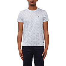 Buy Ted Baker Goldman Micro Print Cotton T-Shirt Online at johnlewis.com