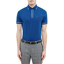 Buy Ted Baker Golf Playgo Striped Trim Polo Shirt Online at johnlewis.com