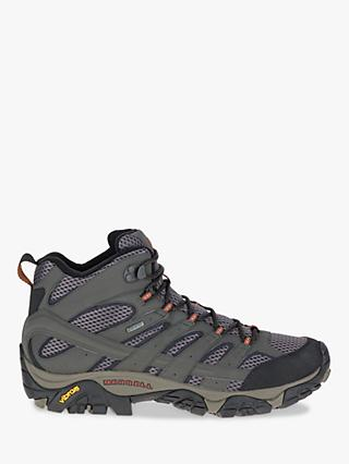 Merrell MOAB 2 Mid Men's Waterproof Gore-Tex Hiking Boots, Beluga