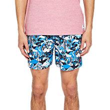 b124143362905 Buy Ted Baker Karner Mountai Print Swim Shorts, Blue Online at  johnlewis.com ...