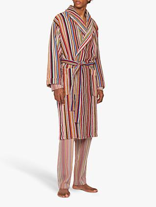 Paul Smith Signature Stripe Cotton Robe, Multi