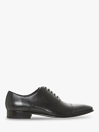 Dune Pontus Pointed Oxford Shoes, Black