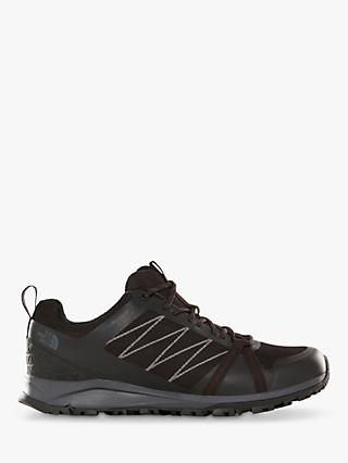 The North Face Litewave Fastpack II Men's Waterproof Hiking Shoes, Black/Ebony Grey