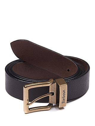 Barbour Blakely Leather Belt, Brown