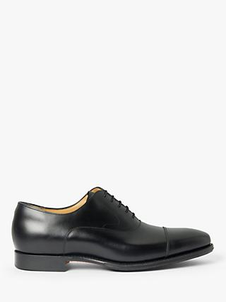 Barker Tech Wright Leather Oxford Shoes, Black