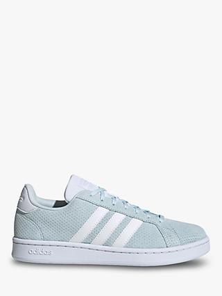 adidas Grand Court Women's Trainers, Sky Tint/FTWR White/Dash Grey