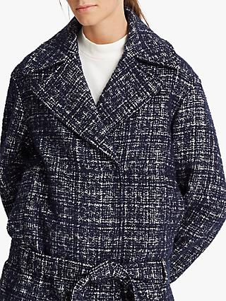 Club Monaco Wrap Coat, Navy