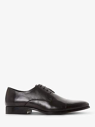 Dune Shea Leather Oxford Shoes, Black