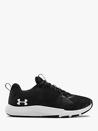 Under Armour Charged Engage Men's Cross Trainers, Black/White