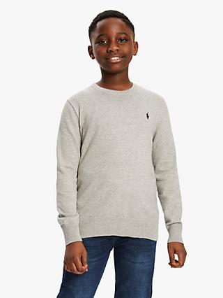 Polo Ralph Lauren Boys' Cotton Jumper, Neutral
