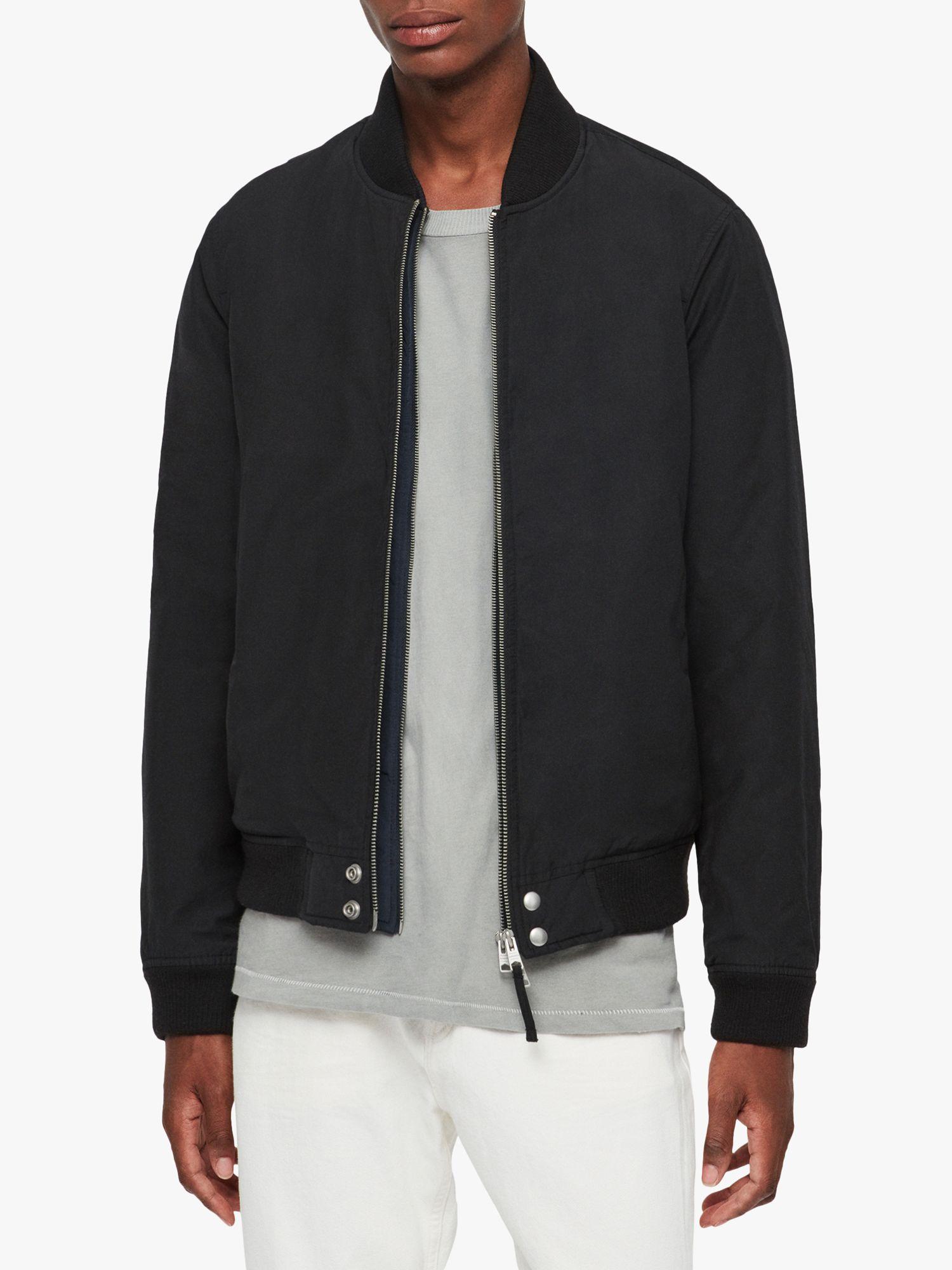 AllSaints Farrier Bomber Jacket, BlackInk