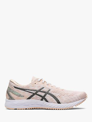 ASICS GEL-DS 25 Women's Running Shoes, White/Gunmetal
