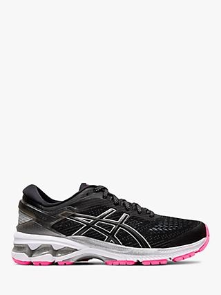 ASICS GEL-KAYANO 26 Lite-Show Women's Running Shoes, Black