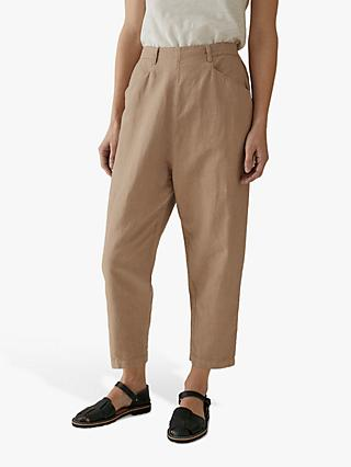 Toast Alix Cotton Linen Trousers