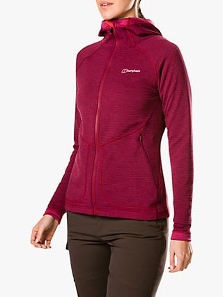 Berghaus Redonda Women's Hooded Jacket, Sangria/Poinsettia