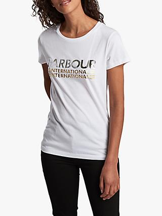 Barbour International Trackrace T-Shirt, White