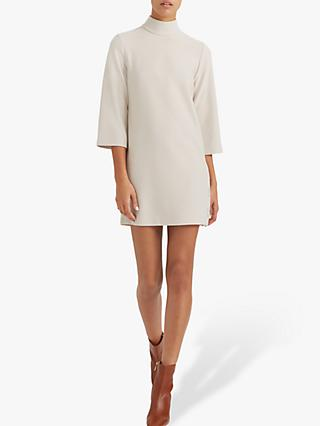 Club Monaco Mock Neck Knit Dress, Bone