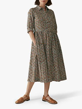 Toast Anokhi Block Print Dress, Sacramento
