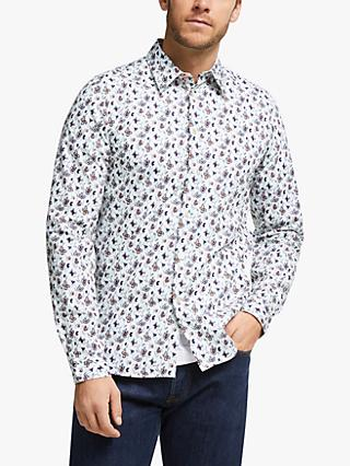 PS Paul Smith Abstract Print Shirt, White