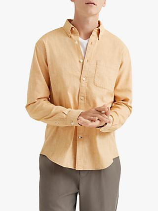 Club Monaco Textured Micro-Stripe Shirt