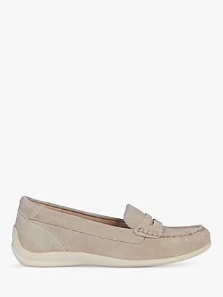 Geox Women's Yuki Suede Moccasins, Taupe