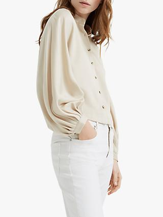 Club Monaco Peechie Balloon Sleeve Shirt, Cashew
