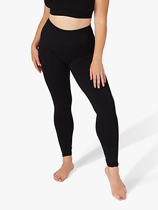 Jilla Active Feel Rooted Modal Yoga Leggings, Black