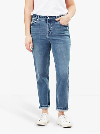 Joules Etta Straight Leg Jeans, Light Denim
