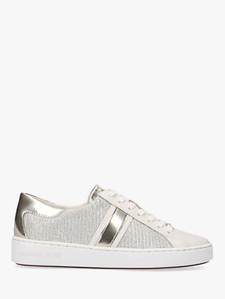 MICHAEL Michael Kors Keaton Leather Lace Up Trainers, Multi
