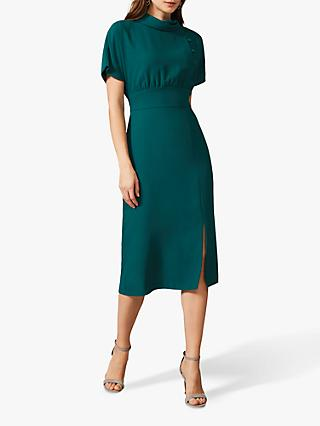 Phase Eight Aleandra Button Dress, Jade