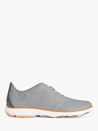 Geox Nebula Trainers, Light Grey