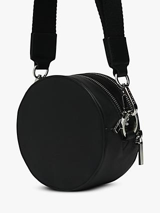 Whistles Cole Leather Round Cross Body Bag