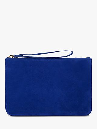 Hobbs Chelsea Leather Wristlet Clutch Bag
