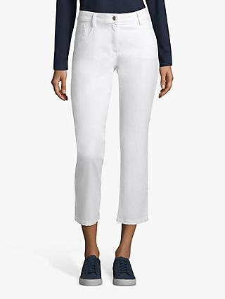 Betty Barclay Cropped Sara Jeans, White