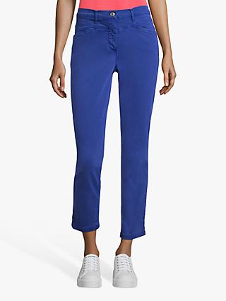 Betty Barclay Sally Cropped Jeans, Adria Blue