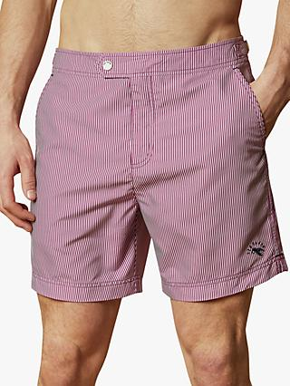 Ted Baker Geswork Formal Stripe Swim Shorts