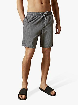 Ted Baker Pinch Patterned Swim Shorts