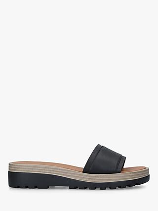 See By Chloé Slide Leather Sandals