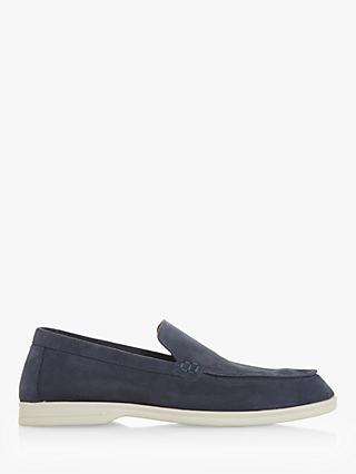 Dune Belters Suede Loafers