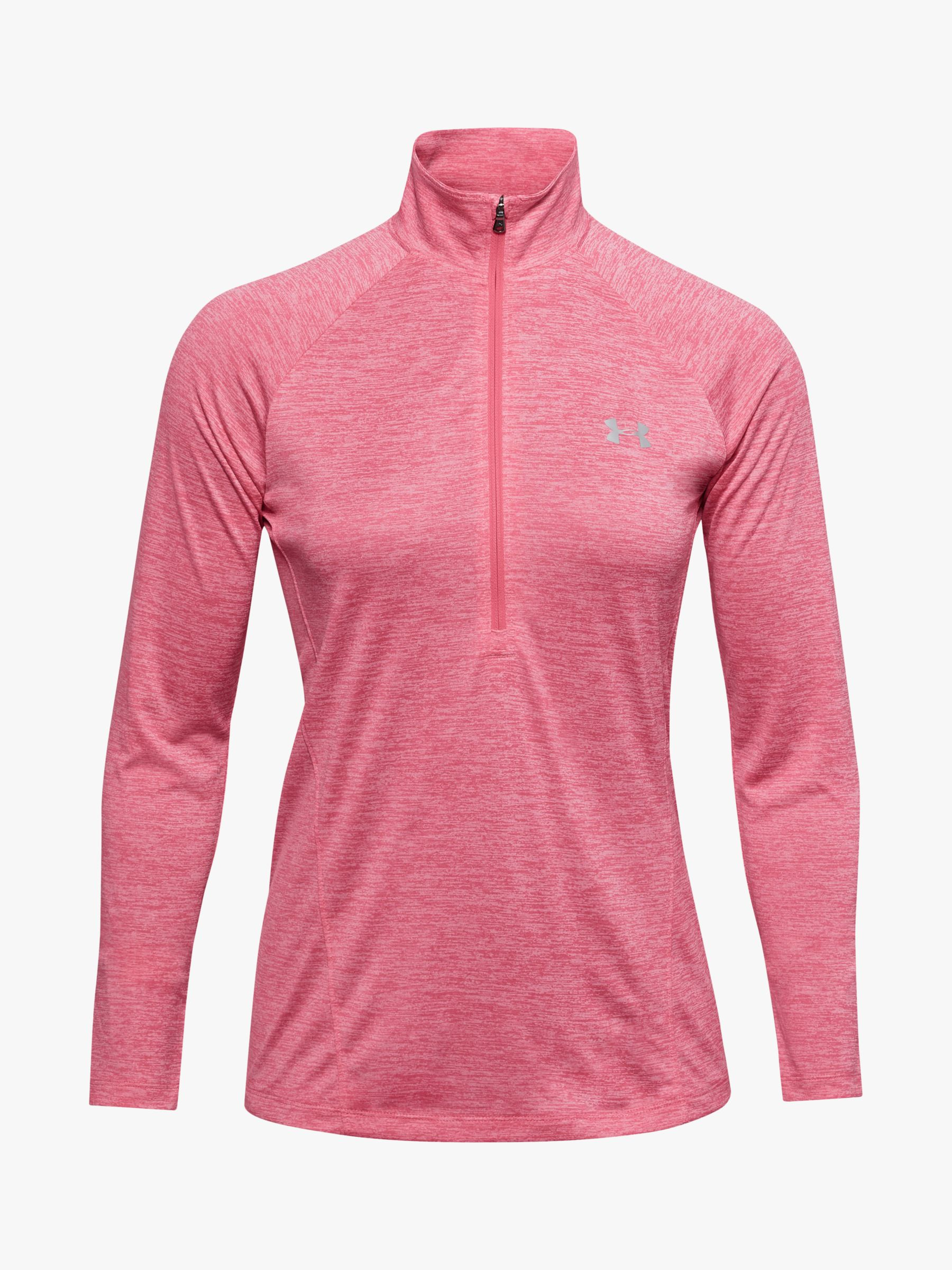 Sz Pink Women's  Long Sleeve Top Small Under Armour