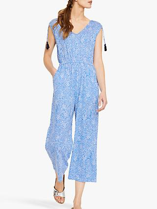White Stuff Marigold Jumpsuit, Ocean Blue