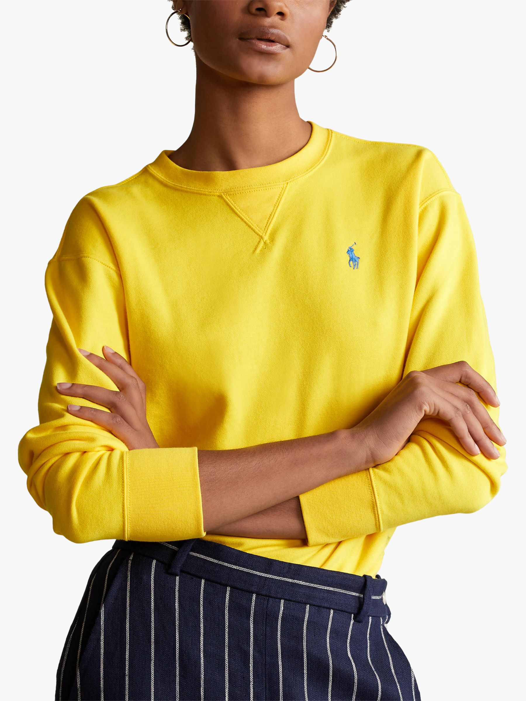 Polo Ralph Lauren Cotton Blend Sweatshirt, University Yellow