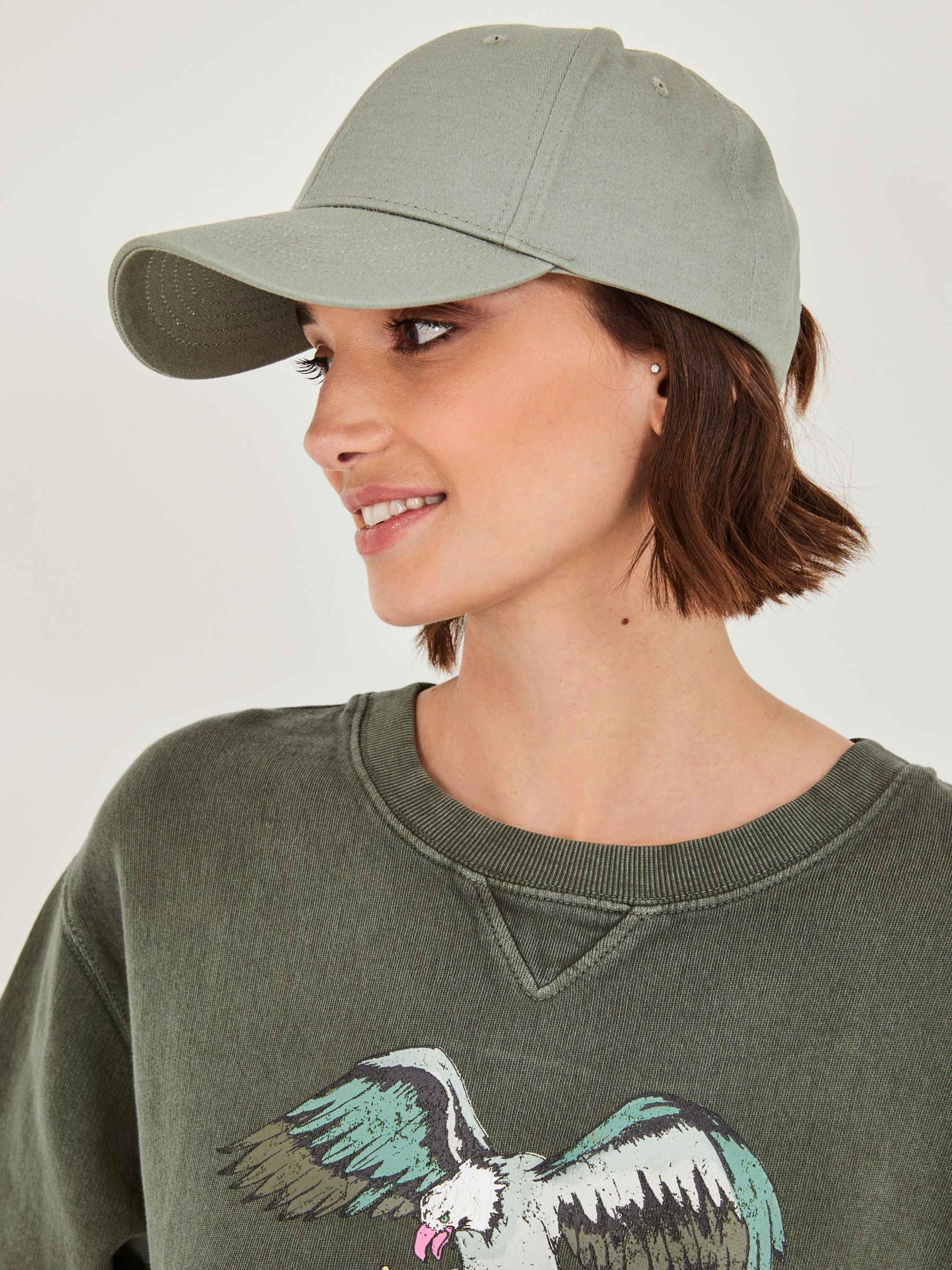 hush Birdie Cotton Baseball Cap