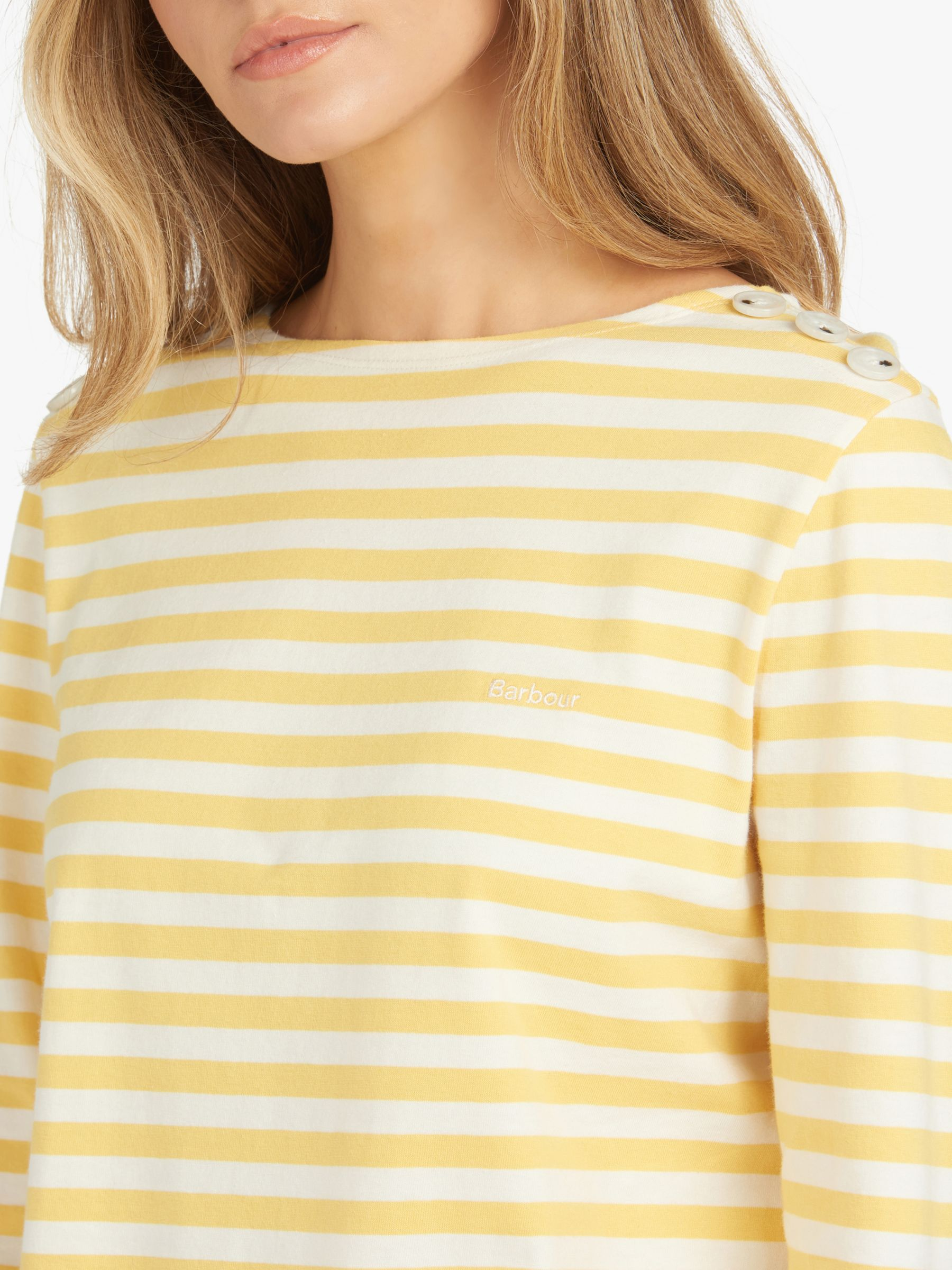 Barbour Fogle Wilderness Adeline Long Sleeve Stripe T-Shirt