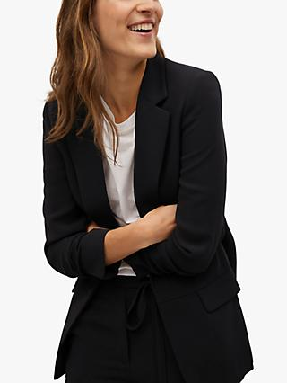 Mango Structured Flowy Suit Jacket