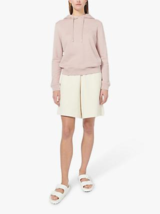 Ninety Percent Organic Cotton Classic Fit Hoodie, Dirty Pink