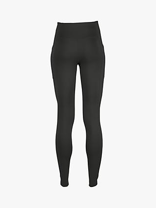 Girlfriend Collective High Rise Pocket Full Length Leggings, Black