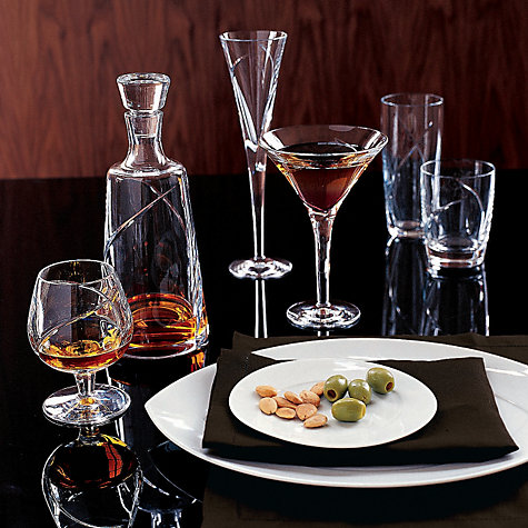 Buy Waterford Crystal Siren Brandy Glasses, Set of 2, Clear Online at johnlewis.com